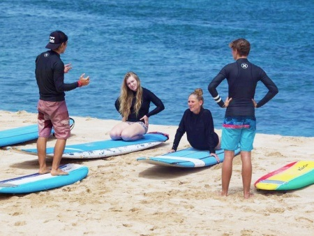 private surf lessons on north shore