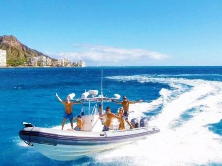 waikiki private small boat snorkel tour
