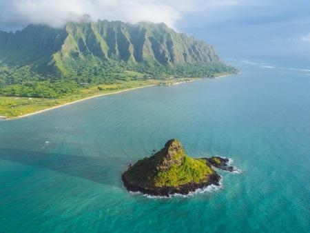 Mauna Loa Helicopters Chinaman Hat