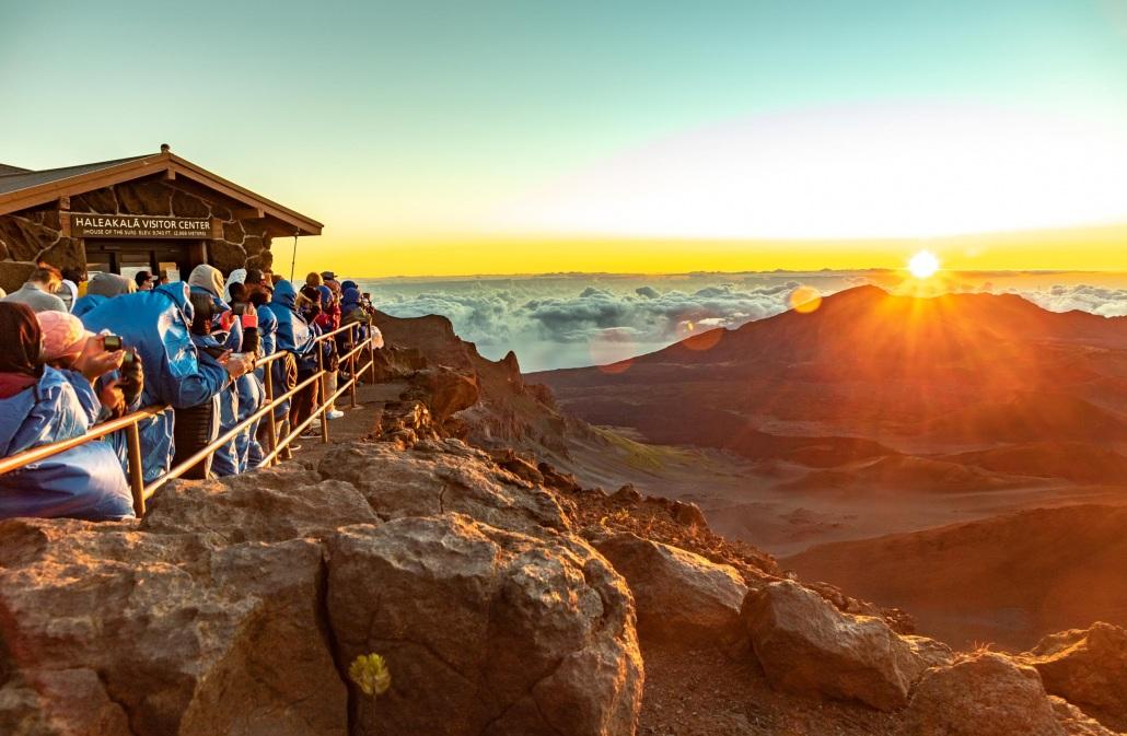 Haleakala Sunrise Sunnit Visitors EX Maui