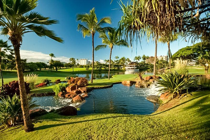 Ko Olina Golf Club 8th hole Oahu