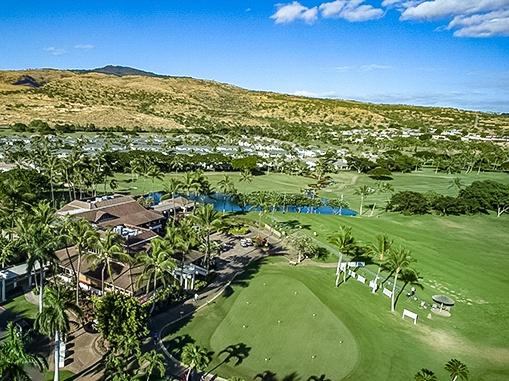 Ko Olina Golf Club Aerial Oahu