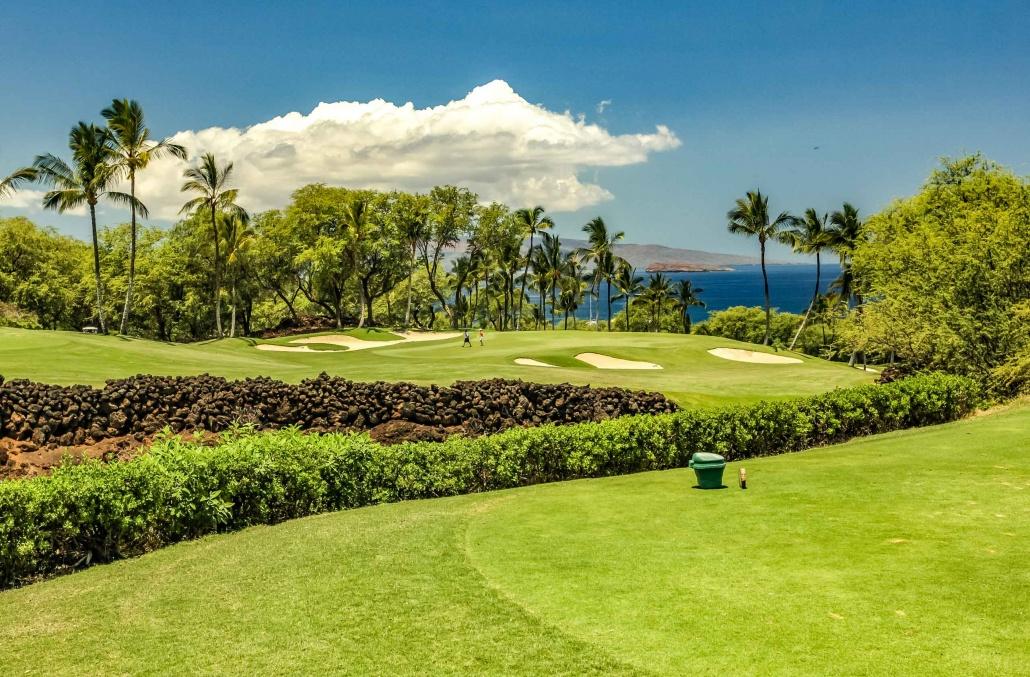 Wailea Gold Course Signature 8th Hole Maui