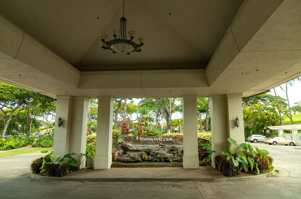 Wailea Golf Club Clubhouse Entrance Sign Maui