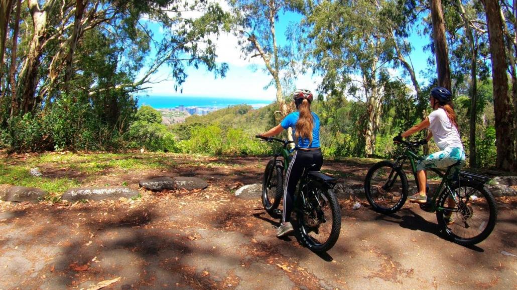 Honolulu Rainforest E Bike Tour